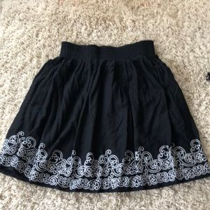 Cotton lined skirt